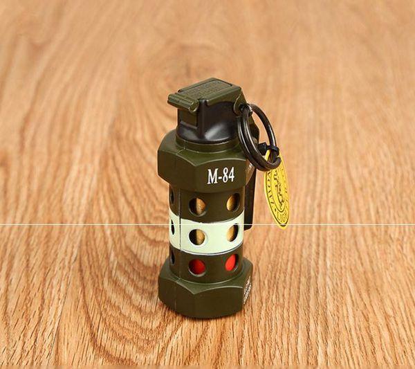 Zhonglong 831 baking paint gas lighter creative grenade model metal windproof cigarette lighter