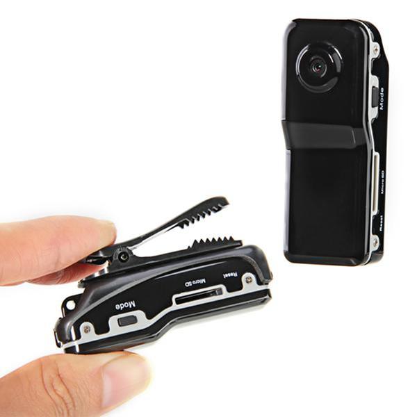MD80 Videocámara Mini DV DVR Cámara de Vídeo Cámara Web Cam Deportes Casco Bicicleta Cámara de Surf Grabadora de Audio Video Con Soporte de Clip