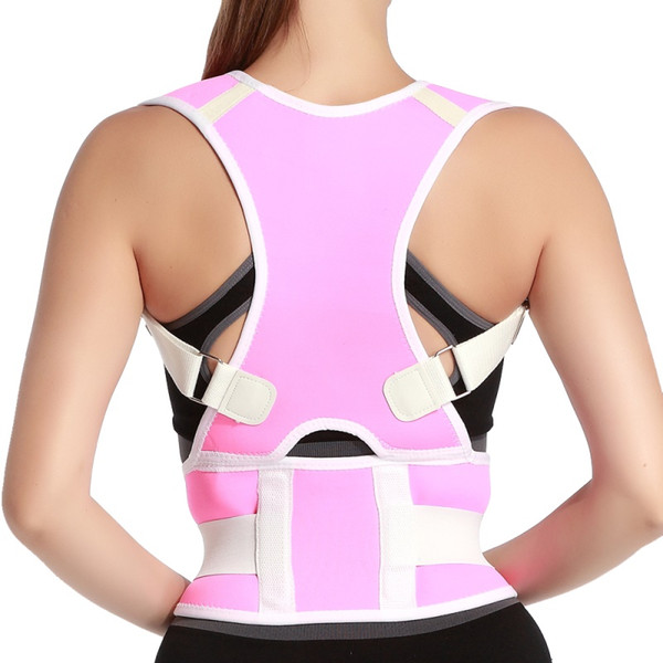 Adjustable Braces Support Therapy Shoulder Top Quality Magnetic Back Posture Corrector for Student Men and Women