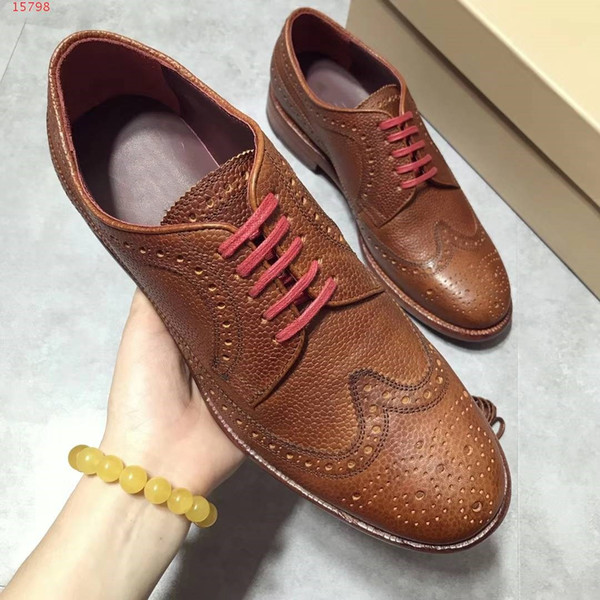 Production factory faux Leather Shoes