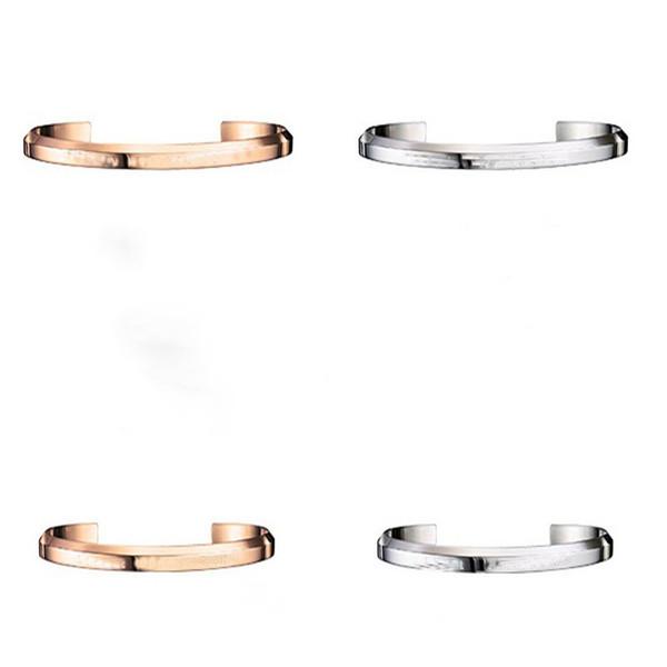Dropshipping New DW Armband Manschette Rose Gold und Silber Armreif für Frauen und Männer NO Original Paket + Zertifikat