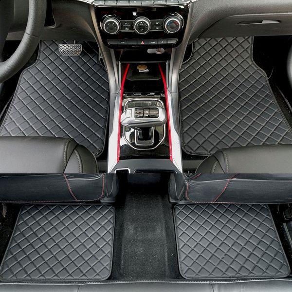 best selling ZHAOYANHUA Universal car floor mats for all models Infiniti QX56 QX80 FX37 QX50 EX25 EX35 Q50 Q70 G25 G35 M25 M35 Car styling