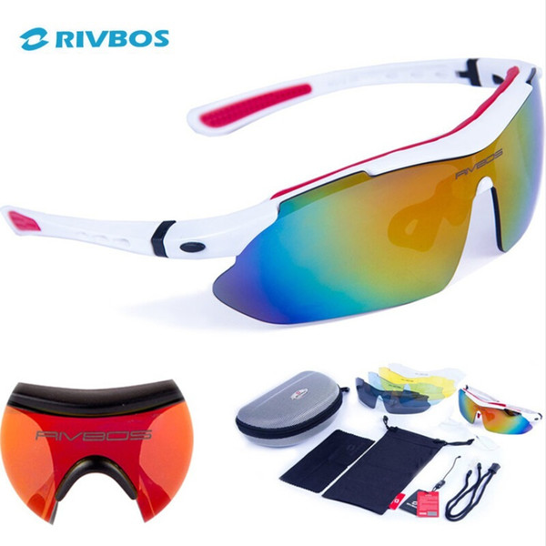 RIVBOS Oculos Ciclismo Cycling Tactical Glasses Men Women Gafas Ciclismo Bicycle Bike Sports Cycling Sunglasses Eyewear RB0806