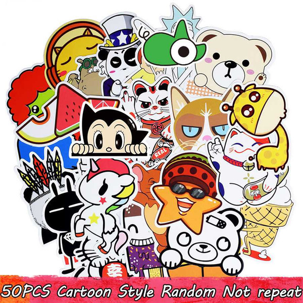50pcs Ramdon cartoon