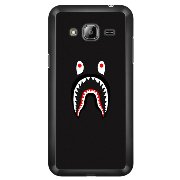 Design Cool camouflage shark Phone Covers Shells Hard Plastic Cases For Samsung Galaxy J3 J5 J7 2015 2016 2017