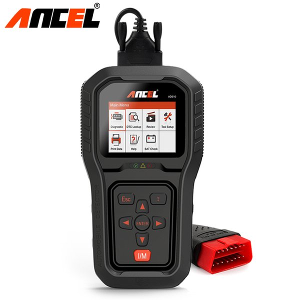 Ancel AD510 Pro OBD2 Car Engine Diagnostic Tool OBD 2 EOBD Code Reader Scan Tool Multi-languages Automotive Diagnostic Scanner