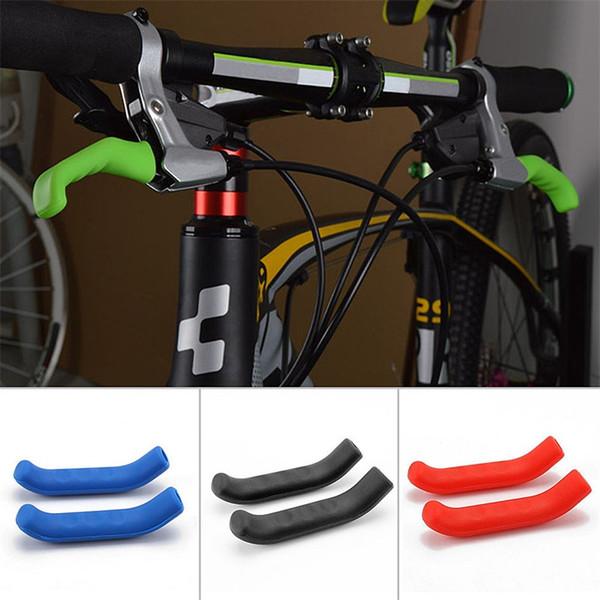 Silikon Bremsgriff Hebel Schutzhülle Universal Typ Schutzhülse Für Mountain Road Bike Bremsen Abdeckungen 2 1qt Ww