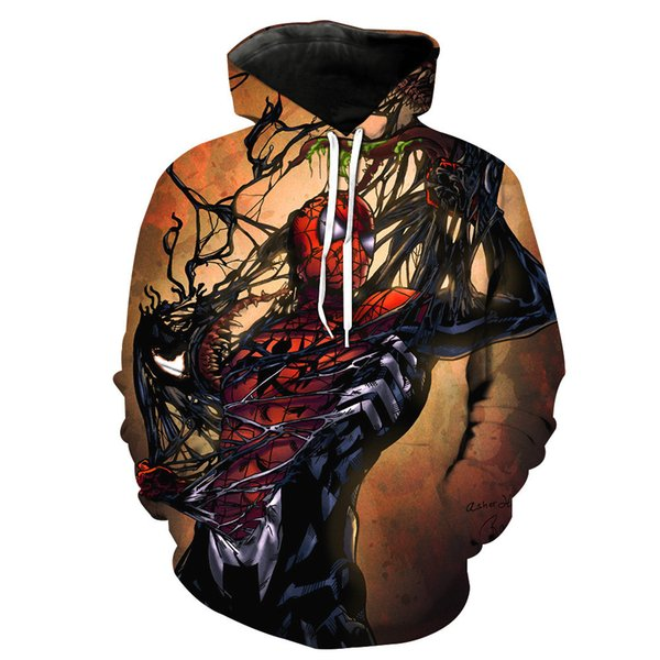 Newest 3D Print Christmas Halloween Carnival character Anime movie Theme Pullover Hoodies for Women/men Causal Loose Plus Size Sweatshirts