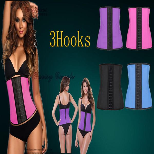 9 os en acier latex latex corps shaper taille formateur corsets de formation Corset Latex Corset Sexy Femmes Latex Taille Cincher Minceur Shapewear