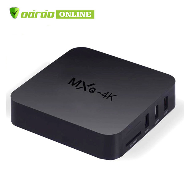 Factory OEM MXQ Pro MXQ 4K Android 7.1 TV Box Rockchip RK3229 Quad Core 1GB RAM 8GB FLASH Android tv Streaming media player