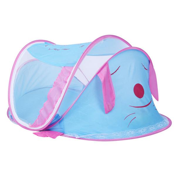 Новая портативная детская коляска Mosquito Net палатка Многофункциональная подставка для коляски Младенческая складная сетка для москитов для кровати для девочек Бесплатная доставка
