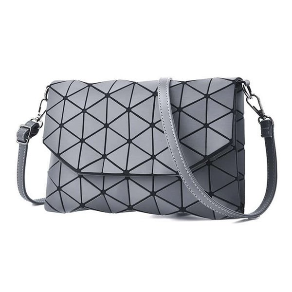 Small Solid Plaid Geometric Lingge Envelope Handbag Hotsale Women Clutch Ladies Purse Crossbody Messenger Shoulder Bags Sg166