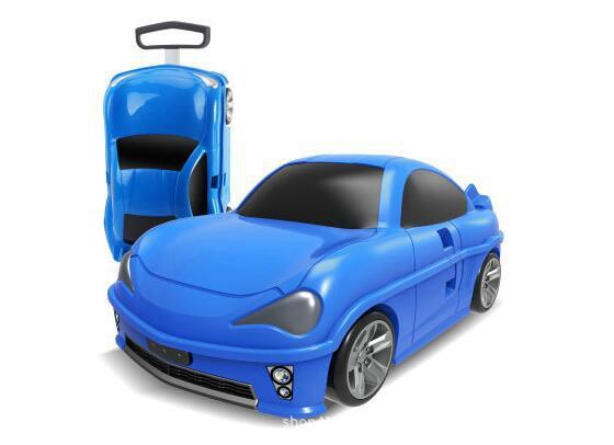 Kids Rolling luggage suitcase racing car Travel Luggage Children Travel Trolley Suitcase for boys wheeled for kids
