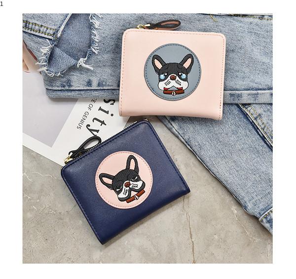 New Fashion Lady Wallets Luxury Designer Purses Simple Women Wallet Package Handbag Girl Cartoon Clutch Bag Large Capacity Best Gift
