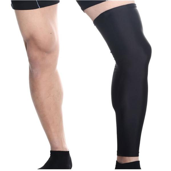 Vente en gros- Hewolf 1 pc Hommes Cyclisme Femmes Legs Sport Sécurité Course à pied Legging Randonnée Basketball Football Jambe Protection Sportswear