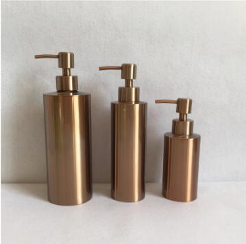 2019 Stainless Steel Liquid Soap Dispenser Bottle Countertop Kitchen Sink  Soap Dispenser Chrome Soap Bottle 250ml/350ml/550ml LOGO Custom From ...