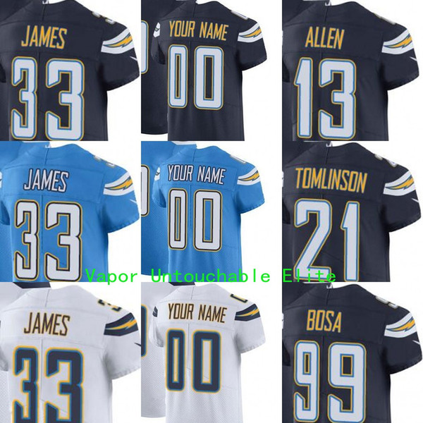 buy popular b424f b2697 2018 Mens Women Youth Los Angeles Chargers James Ladainian Tomlinson Keenan  Allen Joey Bosa Philip Rivers Vapor Untouchable Elite&Limited Jersey From  ...