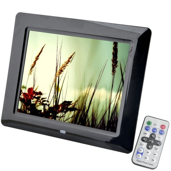 8 inch LCD Screen LED Backlight HD 800*600 Screen Digital Photo Frame Electronic Album Picture Frame MP3/MP4 Nice Gift Wedding