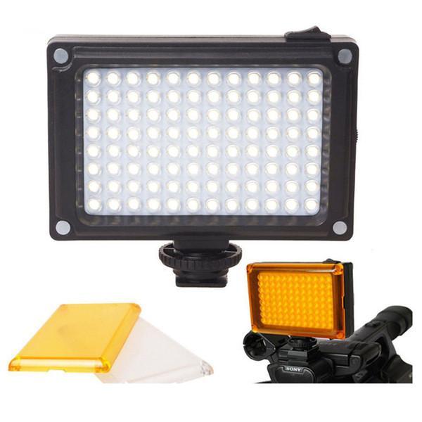 96 Camera LED Video Light Photo Studio Light on Camera with Hot shoe for Canon Nikon Sony DV SLR zhiyun Smooth Q Gimbal
