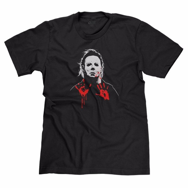 Michael Myers The Shape Halloween Killer Horror Scary Movie Parody T-Shirt Tee Fashion Summer Paried Tshirts