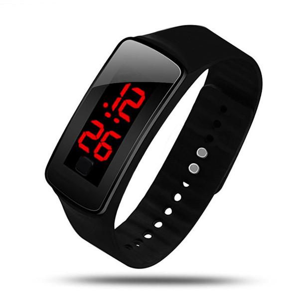 Digital Sport Men Watches Led Display Sports Wristwatch For Women Men Bracelet Silicone Unisex Clock Relogio Masculino
