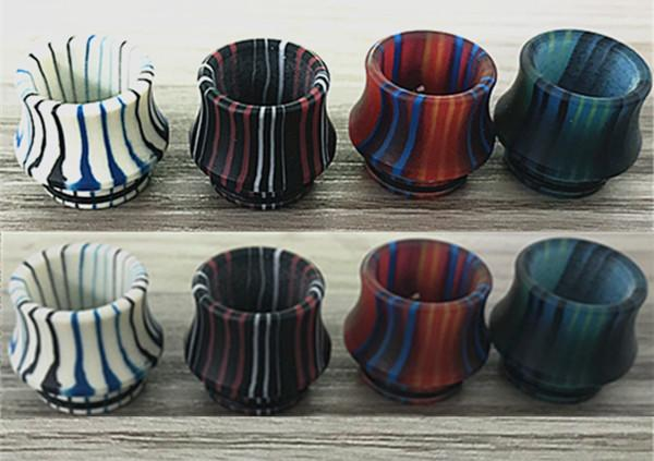 2018 newest cheap 810 drip tip resin tfv12 tfv8 tank mouthpiece China market electronic cigarette accessories