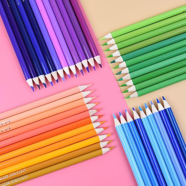 Compre 136es Lápices De Colores A Base De Aceite Seguro No Tóxico Juego De Lápices Profesionales Para El Dibujo Escolar Lapices De Colores A 3619