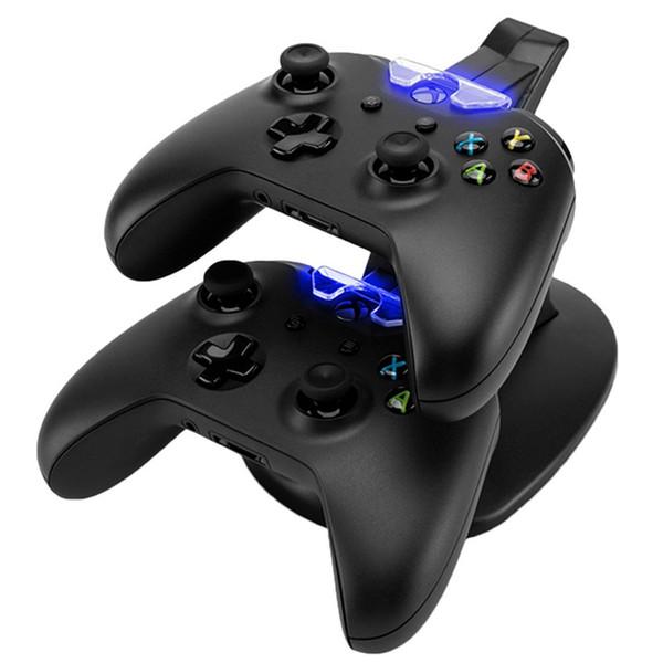 Dual controladores carregador de carregamento estação de suporte dock para sony playstation ps4 ps4 x-box um ones Game Console Controlador Sem Fio DHL