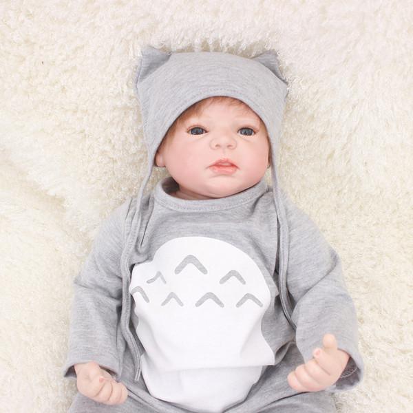 Atordsdolls 22inch 55cm Full body soft silicone Vinyl Reborn Baby Doll Toys Lifelike Child Birthday Xmas Gift HOT TOY for girl