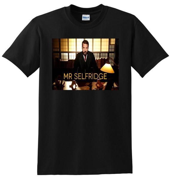 e5fd54b4db MR SELFRIDGE T SHIRT Season 1 2 3 SMALL MEDIUM LARGE Or XL Adult ...