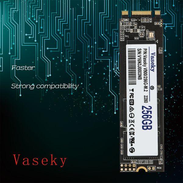 top popular Vaseky Wesch Solid State Drive NGFF Nvmeinterface m.2 2280 2242 Hard drive notebook Desktop or Laptop Hard Disk 2019