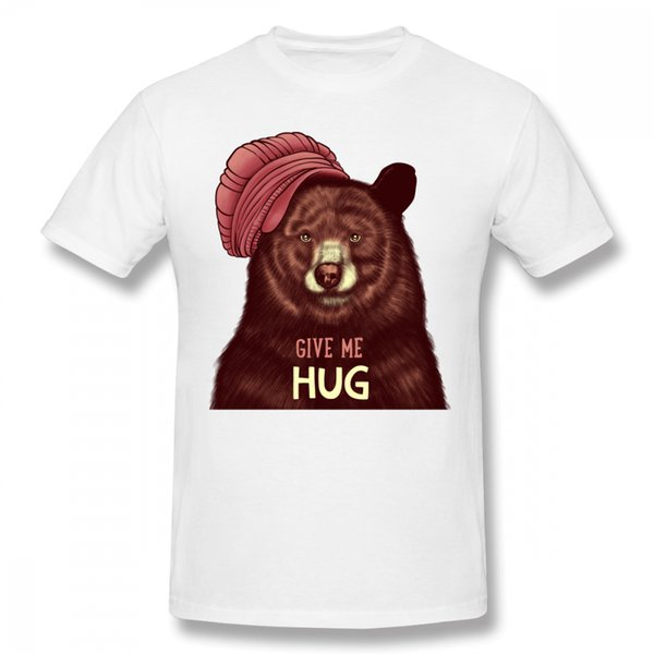 Acheter Give Me Hug T Shirts Ours Mignon
