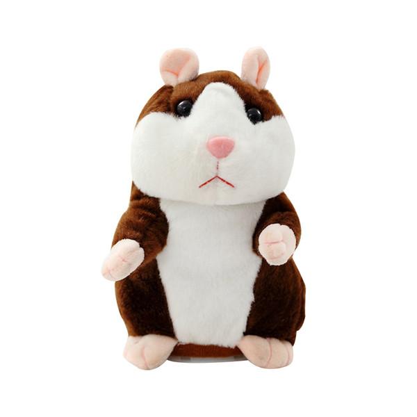 Quenya Cute 15cm Tier Cartoon Sprechen Hamster Plüsch Spielzeug Kawaii Sprechen Reden Tonaufnahme Hamster Sprechen Spielzeug für Kinder Weihnachtsgeschenk