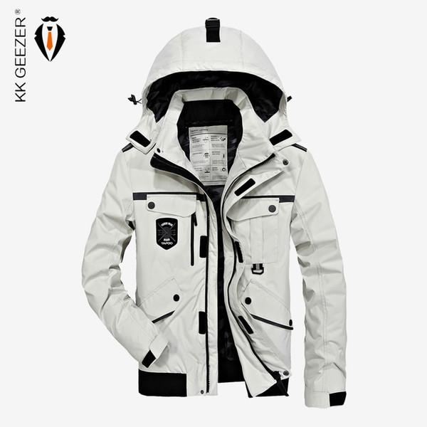 Men Jackets Winter Thick Padded Parka Men Coat Wadded Long Hooded Casual Warm Snow Windbreaker Overcoat Male Jackets Overcoat