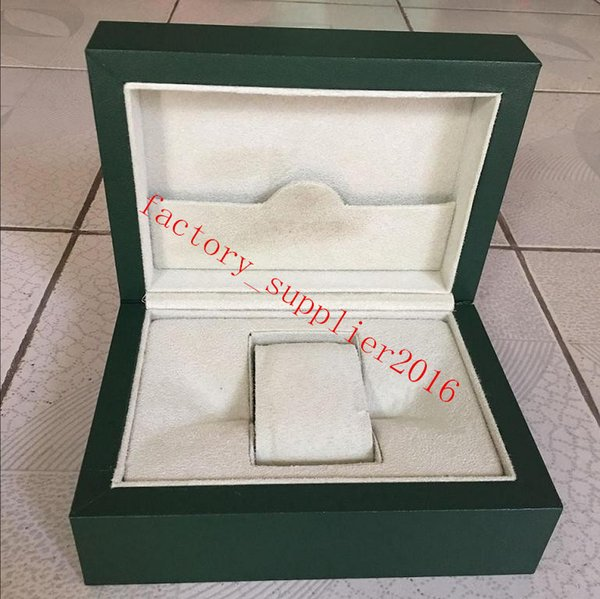 Nuovi Rolex di lusso orologi Mens Roles Box Swiss Original Brand Green Boxes Papers Orologi Libretto Carta regalo per uomo Uomo Donna Saldi 010