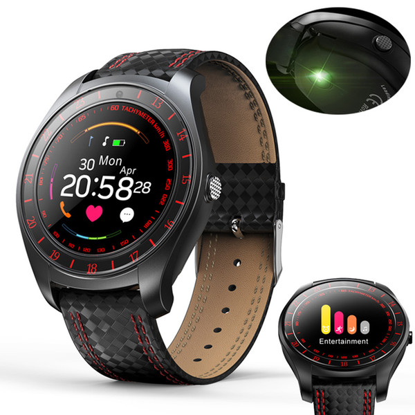 Smart Watch Men Women Heart Rate Monitor Bluetooth Pedometer Fitness Sports Smartwatch With Camera Support SIM Card For Android