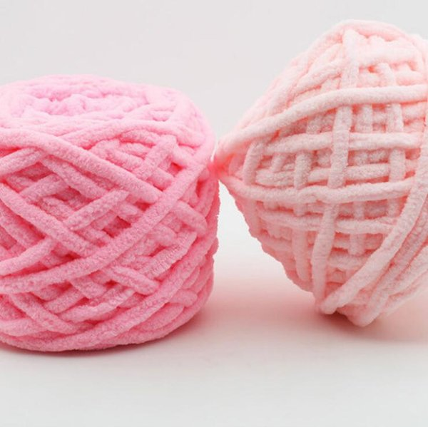 Chunky Wool Yarn for Hand Knitting 100g/1pcs Soft Thick Laine Yarn for Knitting Warm Sweater Neckerchief Baby Clothes