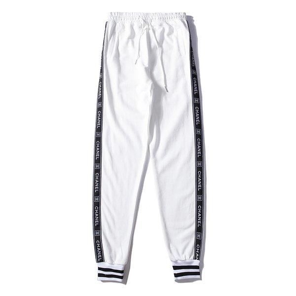 Compre Diseñador Para Hombre Pantalones De Chándal Otoño Rayas Ropa ...