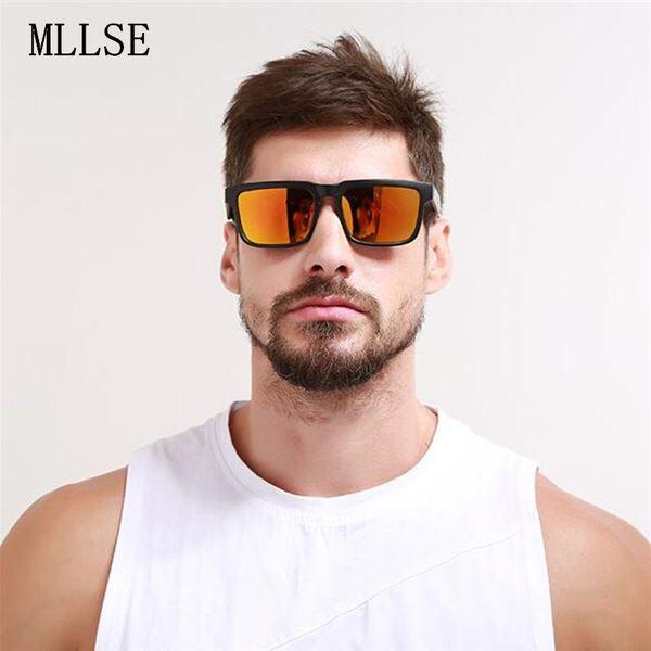 KEN BLOCK Sonnenbrille männer Markendesigner Frauen sonnenbrille Reflektierende Beschichtung Platz Spion Für Männer Rechteck Eyewear Oculos