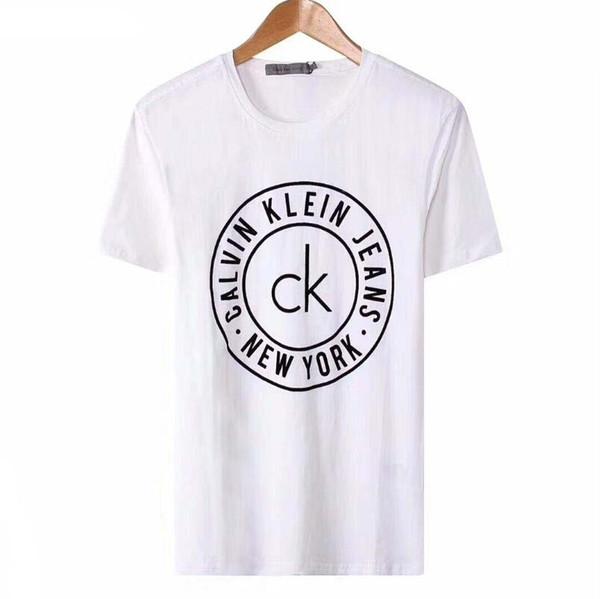 Mens preto de algodão de manga curta camiseta casual de compressão slim fit  o pescoço clássico 933ec6abeab56