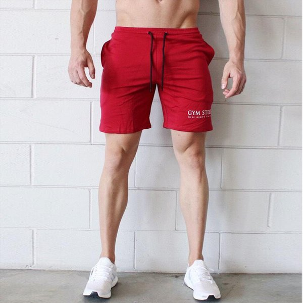 Muscle Bodybuilding Outdoors Run Sports Pants Men's Leisure Time Trouser Self-cultivation Ventilation Cotton Male Shorts Joggers For Men