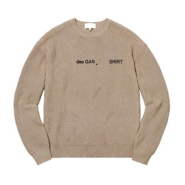18fw box logo x de cotton weater hip hop kateboard cool weater men women cotton ca ual coat