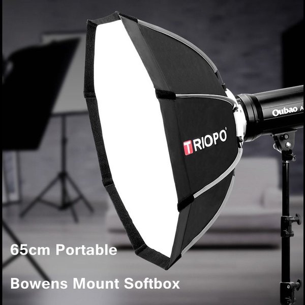 TRIOPO 65cm Tragbare faltbare Octagon Softbox mit Bowens Mount Light Box Zelt für Fotografie Studio Strobe Flash Light