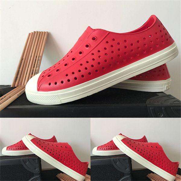 eefc5cc69c45 2017 Fashion Lovers Hole Shoe Men Jefferson Shoes Sandals Brand Flat Casual Summer  Shoes superstar size 36-44