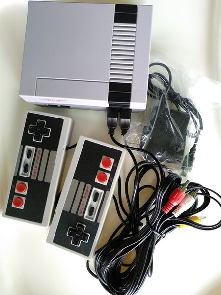 top popular Classic Mini TV Video Games, Model for NES 620, Comes with Retail Box, Hot Sale PAL&NTSC Dual Gamepad, Free DHL 2019
