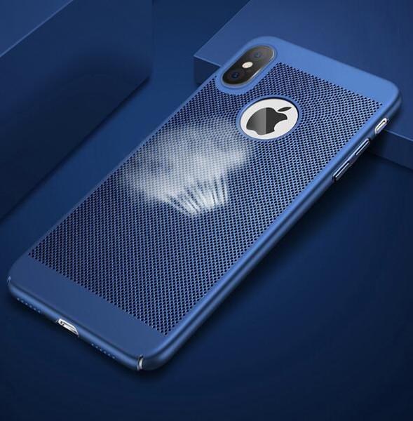 Custodia per il telefono di raffreddamento per iPhone Iphonex traspirante Custodia reticolare Apple 6splus completamente ridimensionata e avvolta. Custodia protettiva Apple 8