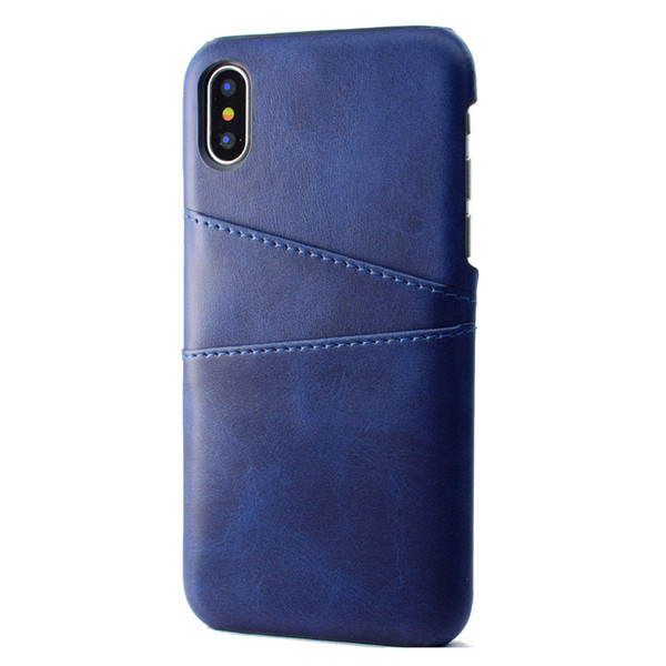 PU Leather Coque For Apple iPhone X XS XR case Luxury Back Cover Card Holder Mobile Phone Cases For iPhone XS Max