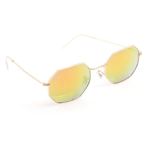 Cadre d'or jaune Lens