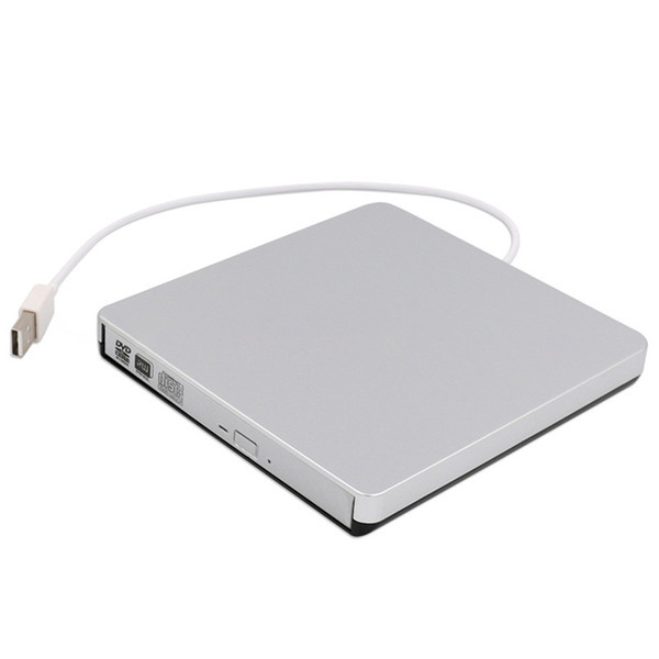 Portable External CD DVD Burner Drive Tray Type Optical Drive for PC Desktop Laptop High Quality Multi-color Free Shipping