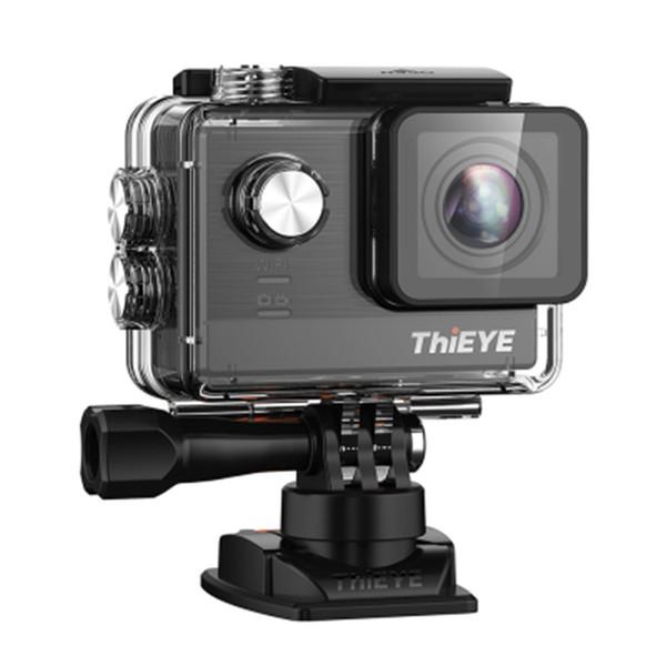 оптовые действие камеры T5e беспроводной доступ в 4К 30 кадров в секунду камера 12MP 2-дюймовый TFT сенсорный ЖК-экран Новатэк 1080p Спорт A12LS75 чипсет IMX117 датчика HD